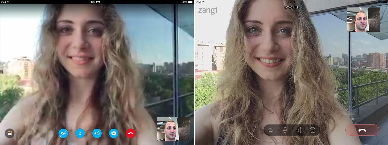 Zangi vs Skype