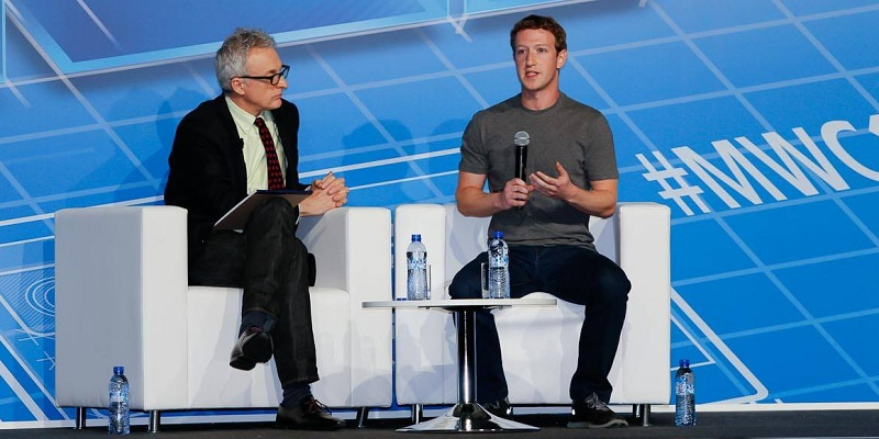 Mark Zuckerberg as keynote speaker at MWC14