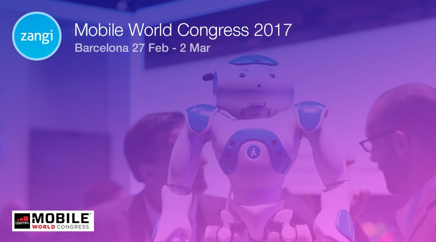 Zangi at Mobile World Congress 2017