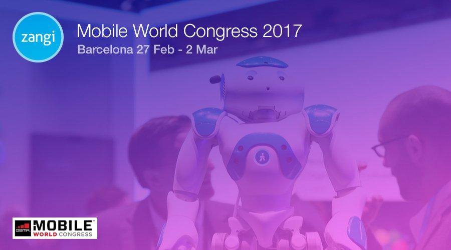 Zangi at Mobile World Congress 2017