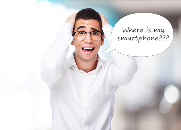 irrational fear of being without a smartphone