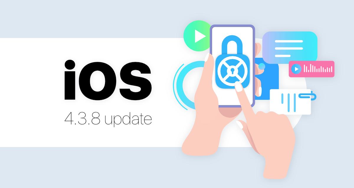 Zangi iOS 4.3.8 Update