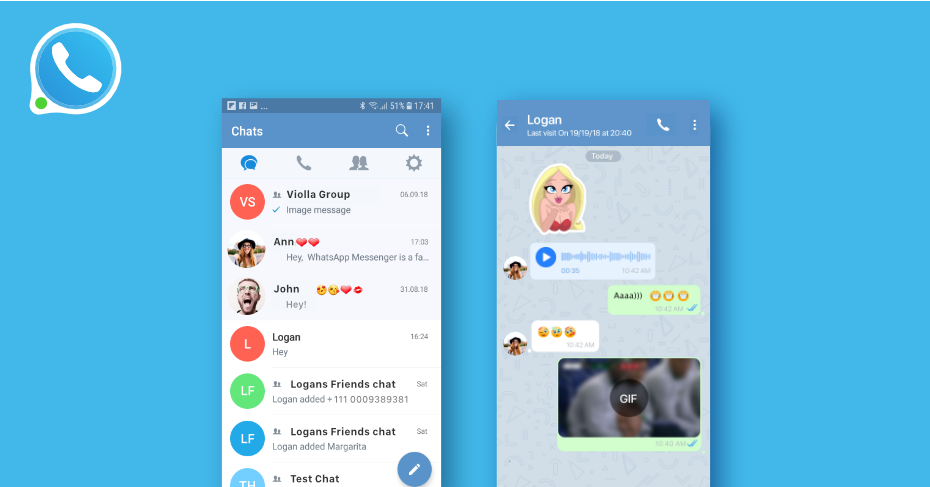 secure messaging apps for android, zangi, safe messenger