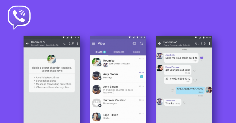 messaging apps for android, viber