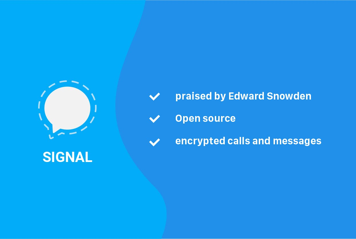 Signal Messenger features secure messengers 2020