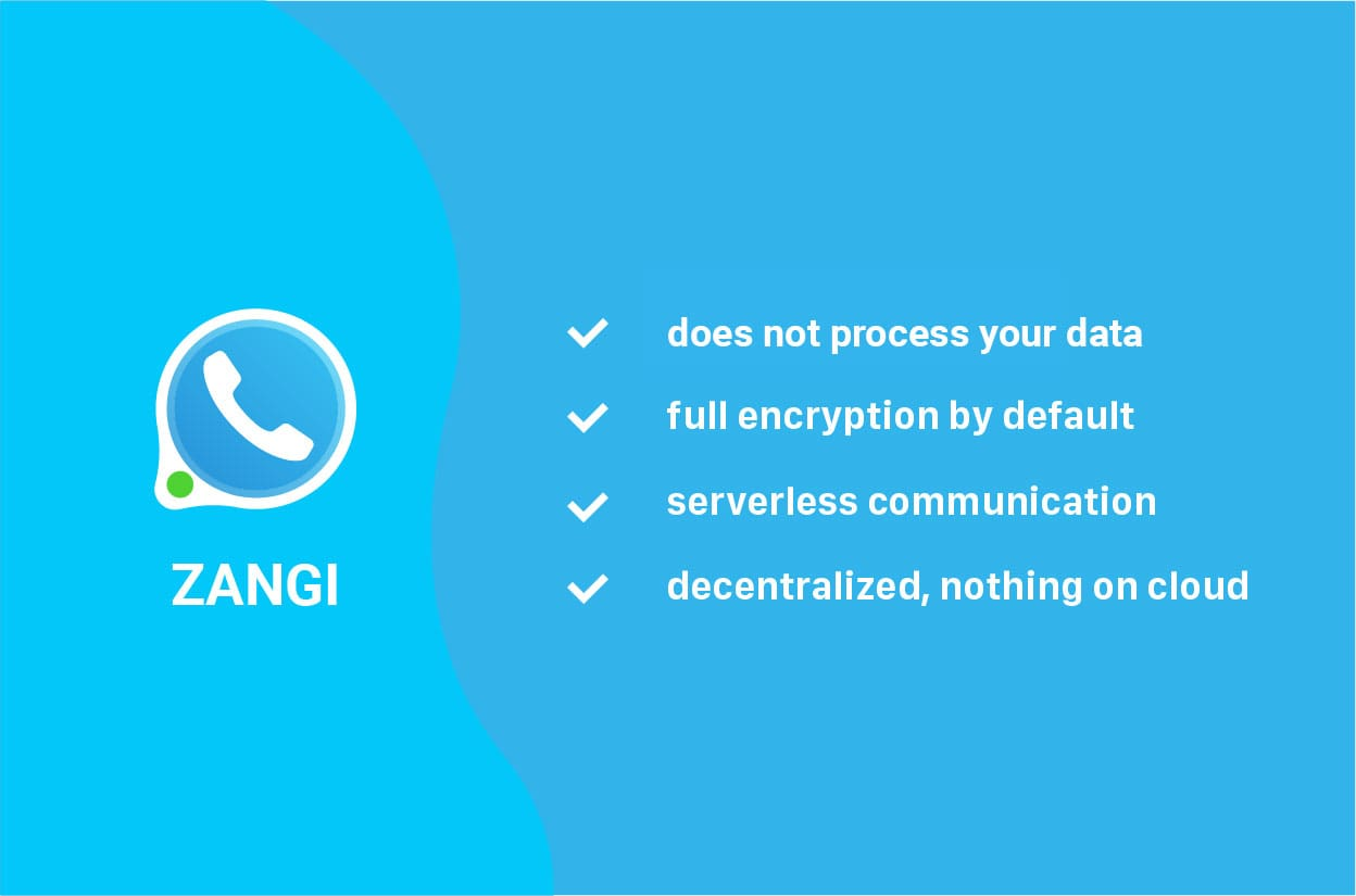 Zangi Messenger Security Features