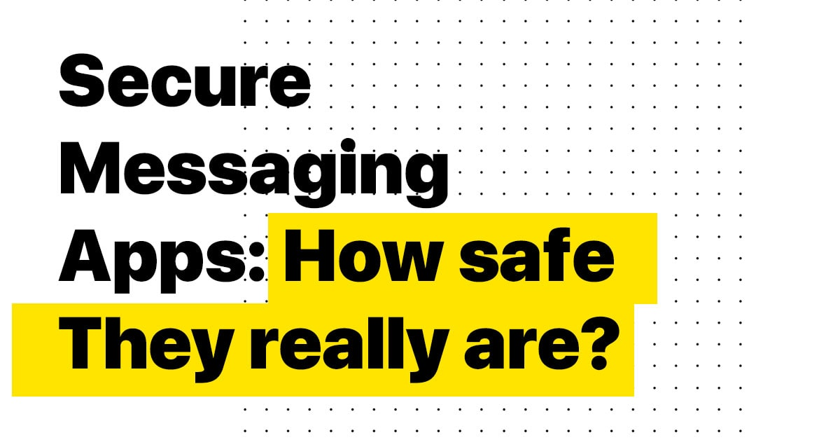 secure messaging apps