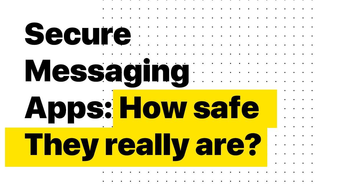 secure messenger apps