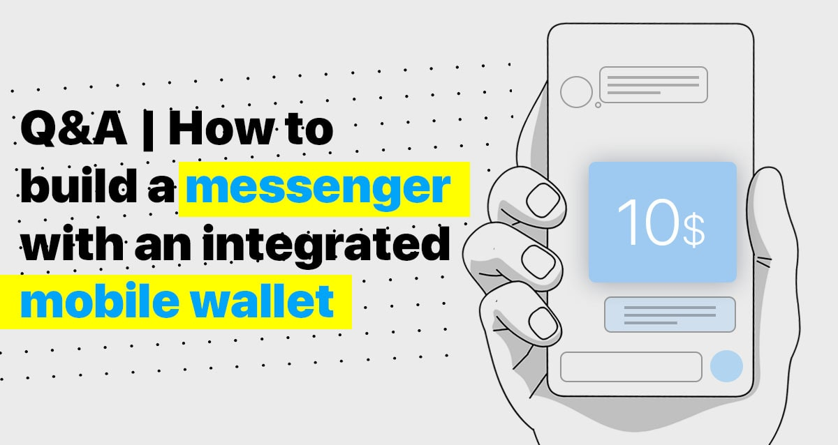 mobile wallet, messenger