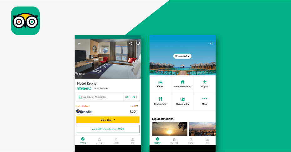 trip advisor Best budget apps