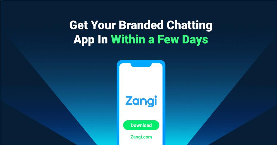 branded chatting app