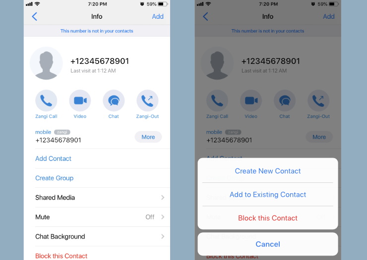 messenger supports ios 12, messenger add contacts