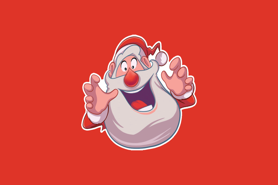 Super Santa Sticker Pack Zangi