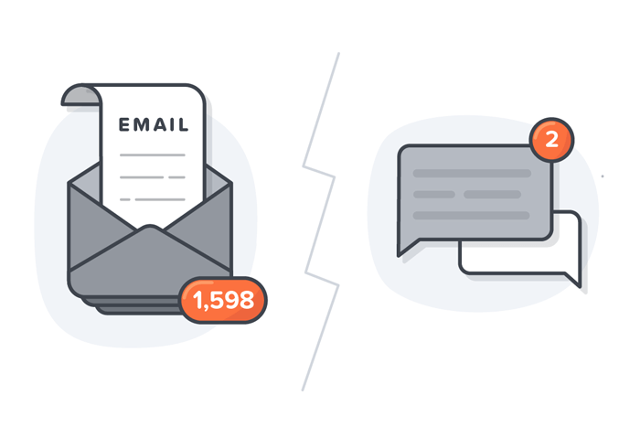 Email vs Enterprise messaging for business