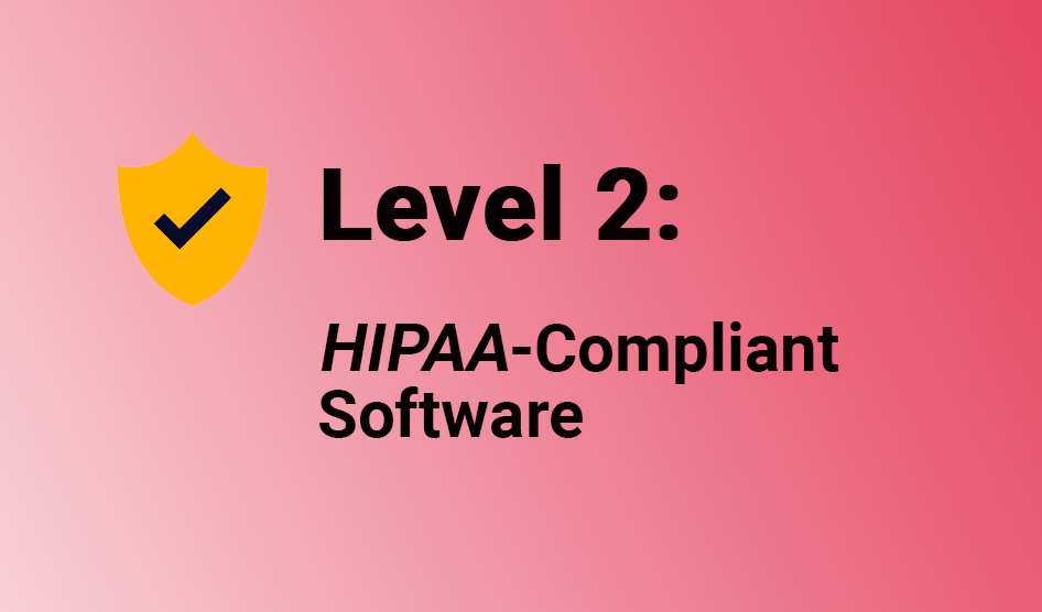 hipaa compliant software