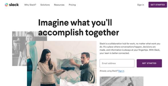 slack team communication software