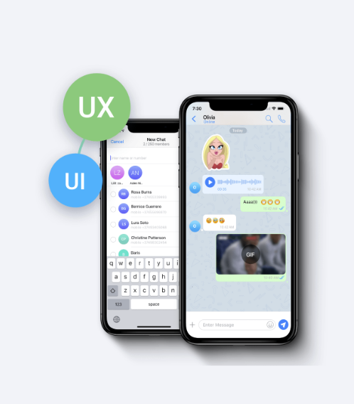 Modern messenger features, no technical team needed team chat software