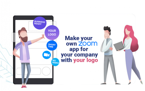 Make your own Zoom app for your company with your logo