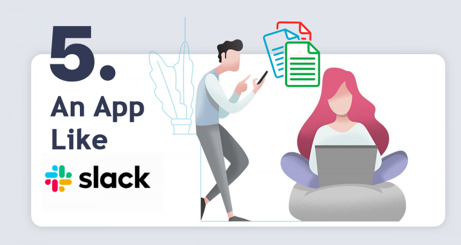 create an app like slack