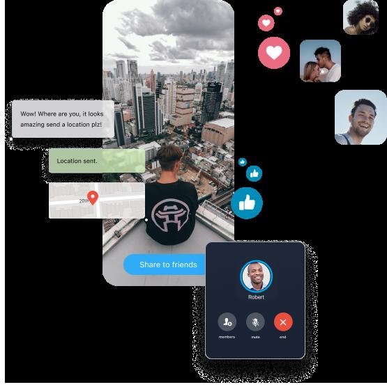 Zangi white label social media platform customizations