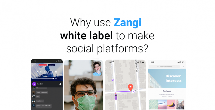 Why use Zangi white label social media platform?
